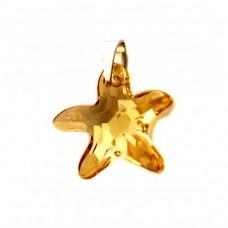 Stříbrný přívěsek Swarovski elements - mořská hvězda SW0025