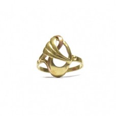 Zlatý dámský prsten celozlatý AUBAZAR0067 - ruční práce