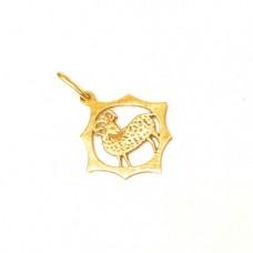 Zlatý přívěsek znamení beran AUBAZAR0056
