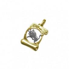 Zlatý přívěsek znamení býk AUBAZAR0037