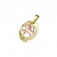 Zlatý přívěsek znamení lev AUBAZAR0054
