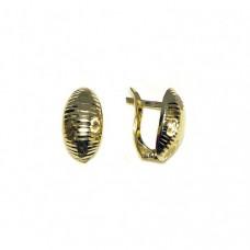 Zlaté náušnice celozlaté AU0654