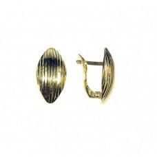 Zlaté náušnice - celozlaté AU0753 - žluté zlato