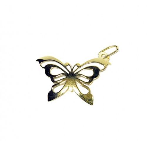 Zlatý přívěsek motýl AU0550 - žluté zlato