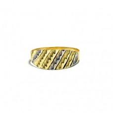 Zlatý prsten bez kamenů AU0188 - celozlatý