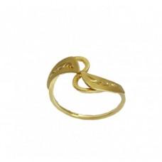 Zlatý prsten montovaný AU0184