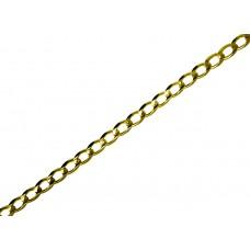 Zlatý masivní řetízek - řetěz pancr AU0303