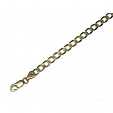 Zlatý masivní řetízek - řetěz pancr AU0803 - plný