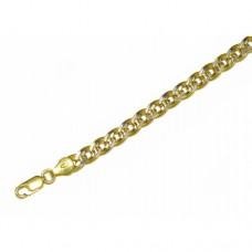 Zlatý masivní řetízek - řetěz Rombo AU0802 - dutý