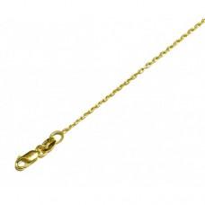 Zlatý řetízek ankr AU0714 - dámský