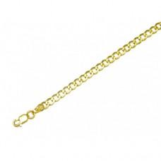 Zlatý řetízek Pancr unisex AU0805 - dutý
