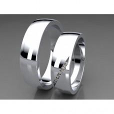 Zlaté snubní prsteny AUSP0013