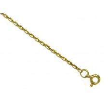 Zlatý náramek ankr - žluté zlato AU0434