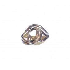 Zlatý dámský masivní prsten bez kamínků AU1160 - žluté zlato