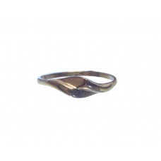 Zlatý prsten celozlatý bez kamenů AU0760 - žluté zlato