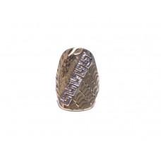 Zlatý hodně masivní prsten bez kamenů AU0907 - celozlatý