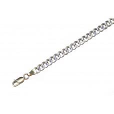 Zlatý masivní řetízek - řetěz pancr AU0210 - dutý (8,71 gr, 585)