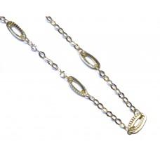 Zlatý dámský náhrdelník AU1070 - žluté zlato