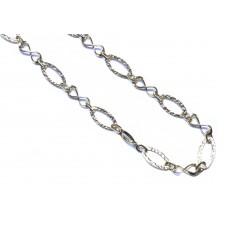 Zlatý dámský náhrdelník AU1071 - žluté zlato