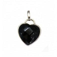 Stříbrný přívěsek srdce AG0077