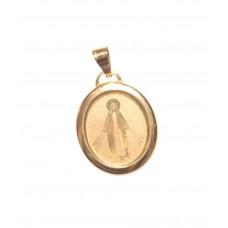 Zlatý přívěsek madonka AUBAZAR0093 - žluté zlato