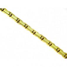 Zlatý náramek - žluté zlato AU0300