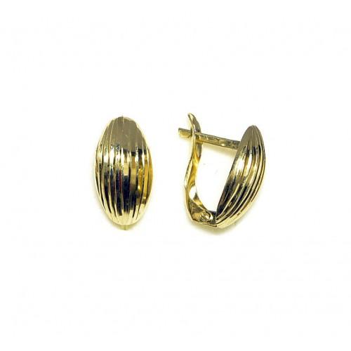 Zlaté náušnice celozlaté AU0628