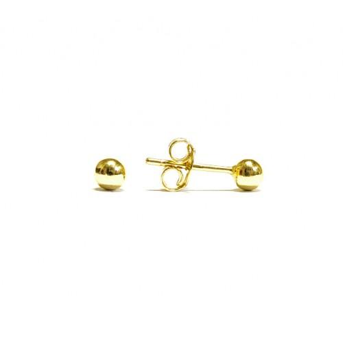 Zlaté náušnice pecky celozlaté AU0264 - větší