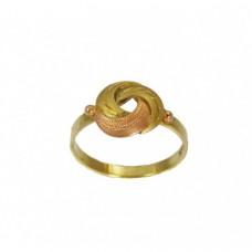 Zlatý prsten montovaný AU0183