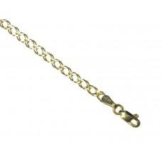 Zlatý řetízek - dvojitý pancr AU0226