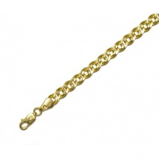 Zlatý řetízek Rombo AU0603 - dutý - unisex - (4,88 gr, 585)