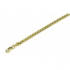 Zlatý řetízek Rombo AU0756 - plný - unisex - (6,86 gr, 585)