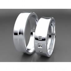 Zlaté snubní prsteny AUSP0001