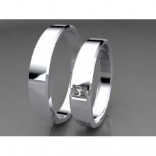 Zlaté snubní prsteny AUSP0005