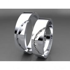 Zlaté snubní prsteny AUSP0017