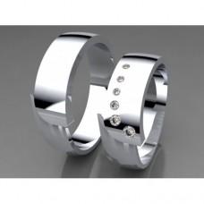 Zlaté snubní prsteny AUSP0023
