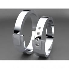 Zlaté snubní prsteny AUSP0027