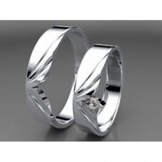 Zlaté snubní prsteny AUSP0032