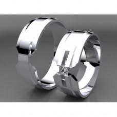 Zlaté snubní prsteny AUSP0036