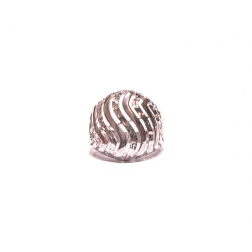 Stříbrný masivní prsten bez kamenů AG0134 - celostříbrný