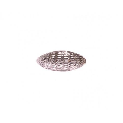 Stříbrný dámský prsten bez kamenů AG0138 - celostříbrný