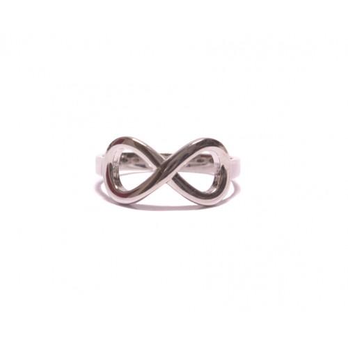 Stříbrný dámský prsten nekonečno AG0170 - celostříbrný