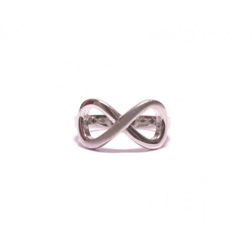 Stříbrný dámský prsten nekonečno AG0165 - celostříbrný